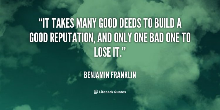 Famous Quotes On Good Deeds