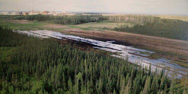 Nexen Energy pipeline spill