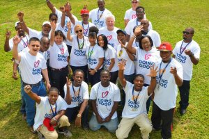 In Nassau, Bahamas, volunteers came together to repair a children's home.