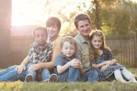 Long, Andrew and Bethany Family photoWP