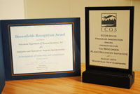RR Program awards from 2010 and 2011.