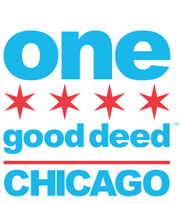 Volunteer in Chicago - image of One Good Deed Chicago logo